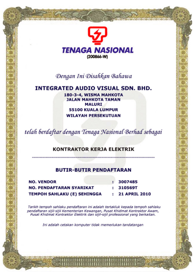 tenaga national berhad essay Tenaga nasional berhad powering national development via the provision every major company has its own logo and the story of how that came about tnb is no.